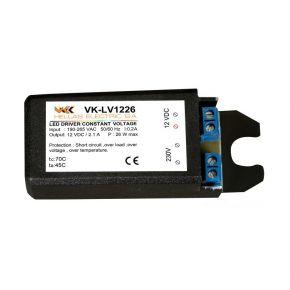 VK LED Τροφοδοτικό 26W 12V
