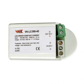 VK LED Τροφοδοτικό 5-14W 24-40V 350mA IP20