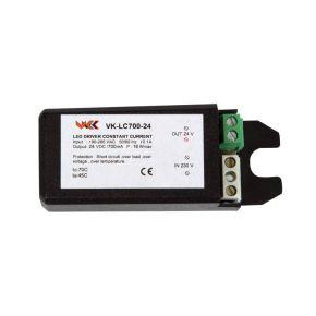 VK LED Τροφοδοτικό 6-12W 12-24V 500mA IP20