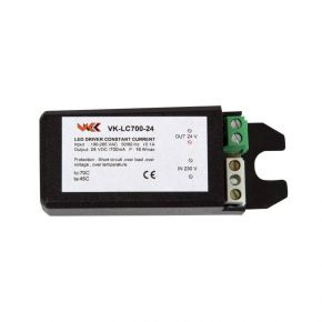 VK LED Τροφοδοτικό 12-22.5W 24-45V 500mA IP20