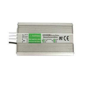 VK LED Τροφοδοτικό Προβολέα Driver 200W 12V IP67