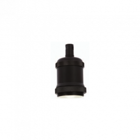 VK Ντουί Αλουμινίου Ε27 Black
