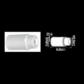 VK Ντουί Βακελίτη E14 Λείο Λευκό