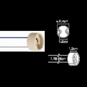 VK Ντουί GU10 Καλώδιο 0x50mm Teflon 80cm