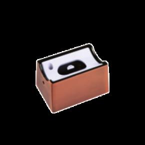 VK Ντουί Linestra No6 S14d Lampholder Single Χάλκινο