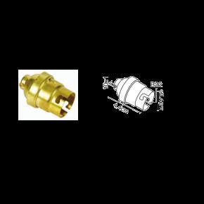 VK Ντουί Ορειχάλκινο B22 χωρίς Δαχτυλίδι