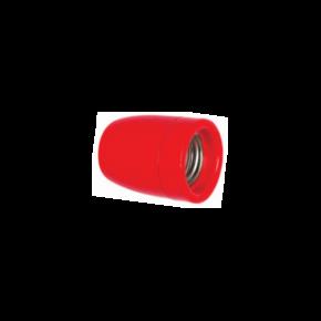 VK Ντουί Πορσελάνης E27 IP20 Red