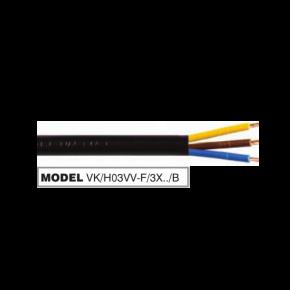 VK PVC Καλώδιο 3 x 1.5 Round Double Cover