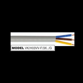 VK PVC Καλώδιο 3 x 0.5 Round Double Cover