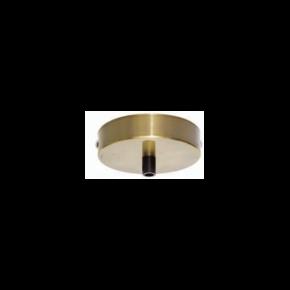 VK Ροζέτα Οροφής Μεταλλική Antique Brass