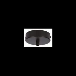 VK Ροζέτα Οροφής Μεταλλική Black