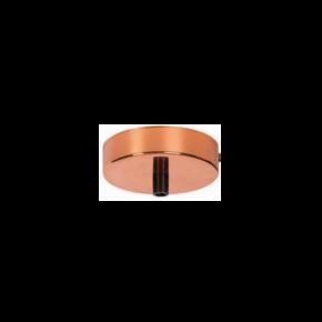 VK Ροζέτα Οροφής Μεταλλική Pink Copper