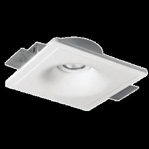 VK Spot Φωτιστικό 35W VK09062 Γύψινο Χωνευτό GU10 Στρογγυλό Βαθύ Κινητό Λευκό