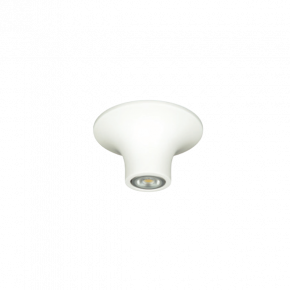 VK Spot Φωτιστικό Οροφής LED Downlight 35W GU10 9cm Γύψινο