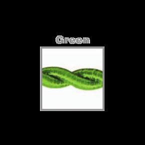 VK Υφασμάτινο Καλώδιο Στριφτό 3x0.75 Green