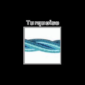 VK Υφασμάτινο Καλώδιο Στριφτό 3x0.75 Turquoise