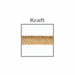 VK Υφασμάτινο Καλώδιο Στρογγυλό 2x0.75 Kraft