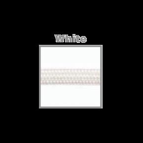 VK Υφασμάτινο Καλώδιο Στρογγυλό 2x0.75 White