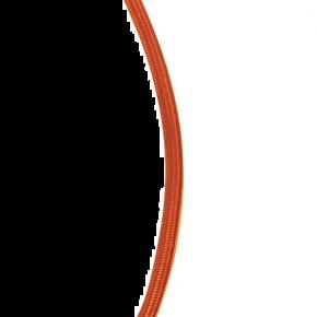 VK Υφασμάτινο Καλώδιο Στρογγυλό 2x0.75 Πορτοκαλί