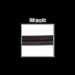 VK Υφασμάτινο Καλώδιο Στρογγυλό 3x0.75 ø0.68cm Black