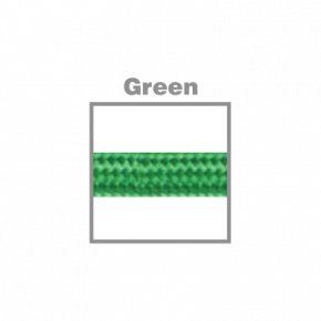 VK Υφασμάτινο Καλώδιο Στρογγυλό 3x0.75 ø0.68cm Green