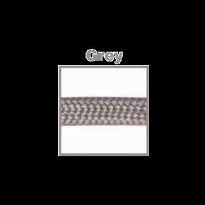 VK Υφασμάτινο Καλώδιο Στρογγυλό 3x0.75 ø0.68cm Grey
