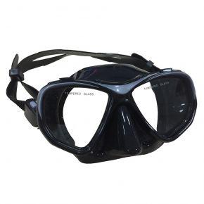 Wave Μάσκα Σιλικόνης M-1392 Mαύρη