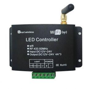 Dio Wi-Fi dimmer με επιπλέον τηλεχειριστήριο αφής RF για Ταινίες LED