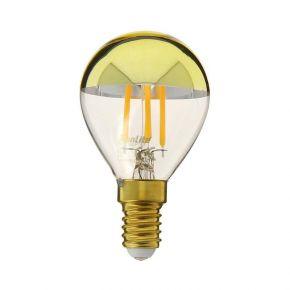 Xanlite LED Λάμπα 4W E14 G45 Gold Top Vintage Filament