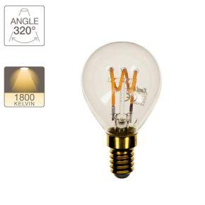 Xanlite LED Λάμπα 4W E14 G45 Vintage Spiral Filament