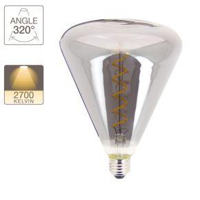 Xanlite LED Λάμπα 4W E27 T150 Shapes Vintage Spirale Filament