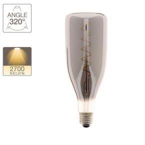 Xanlite LED Λάμπα 4W E27 Bottle Vintage Spirale Smoke Grey Filament