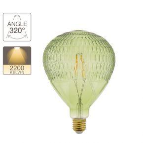 Xanlite LED Λάμπα 4W E27 Green Baloon Vintage Filament