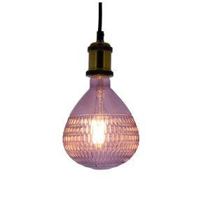 Xanlite LED Λάμπα 4W E27 Pink Baloon Vintage Filament