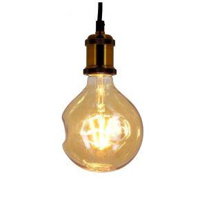 Xanlite LED Λάμπα 6W E27 Irreguliere Vintage Shapes Filament