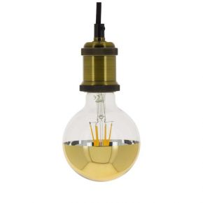 Xanlite LED Λάμπα 8W E27 G95 Golden Top Vintage Filament