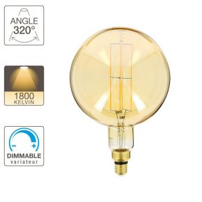 Xanlite LED Λάμπα 8W E27 Vintage Filament Dimmable