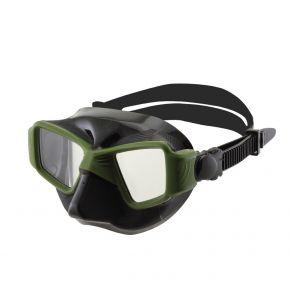 XDive Μάσκα Θαλάσσης Σιλικόνης FACE Green