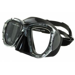 XDive Μάσκα Θαλάσσης Σιλικόνης TEKA BLACK