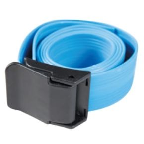 XDive Ζώνη Latex 3mm Μπλε Με Πλαστική Πόρπη