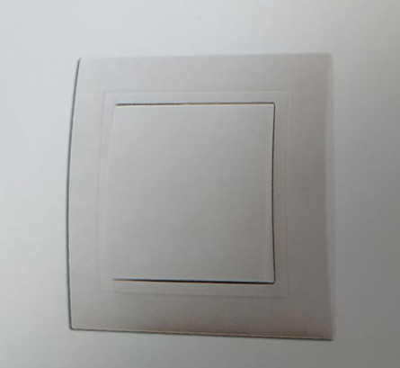 BAS ABOTIS Χωνευτό Μπουτόν Φωτισμού Με Λαμπάκι 220V