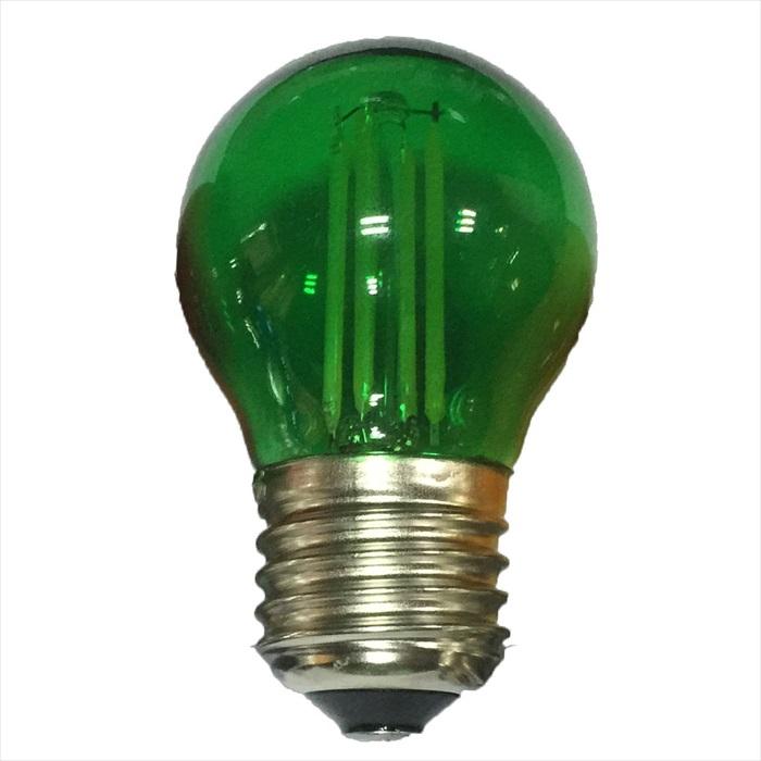Dio LED Διακοσμητική Λάμπα 4W E27 Glamour Χρωματιστές