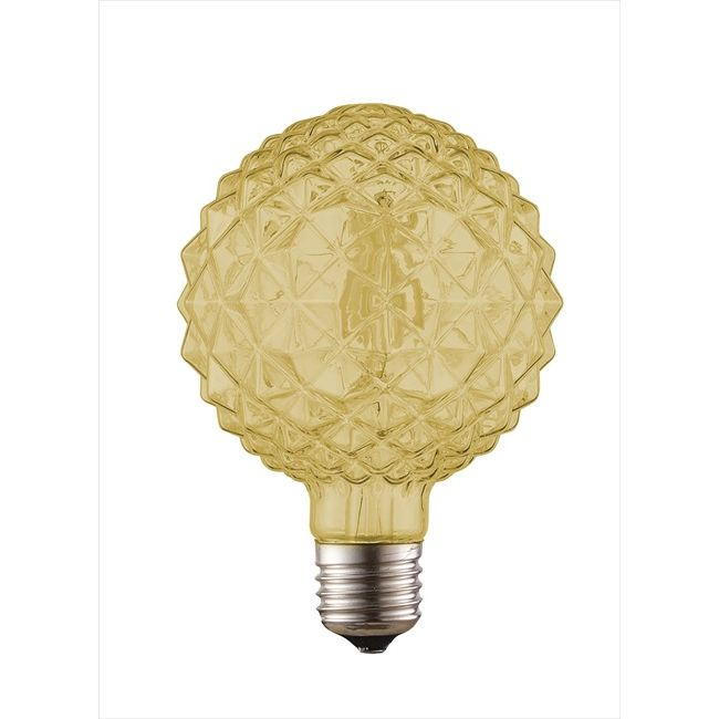 Dio LED Διακοσμητική Λάμπα 6W E27 Ziv Amber Dimmable