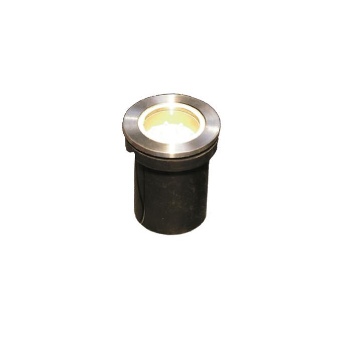 Dio LED Χωνευτό Spot Εδάφους Σήμανσης Στρογγυλό 1.2W