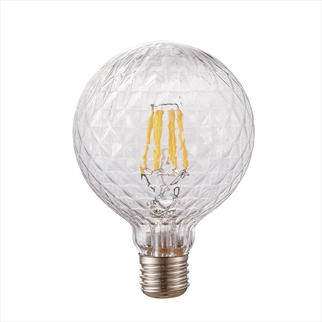 Dio LED Διακοσμητική Λάμπα 6W E27 ø125 Clear Dimmable
