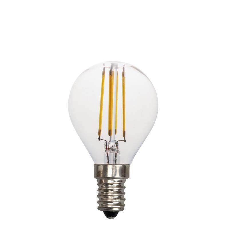 EuroLamp LED Λάμπα 1W E14 G45 Filament