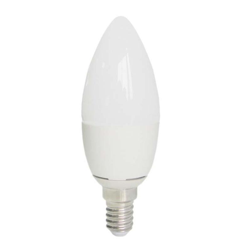Ledison LED Λάμπα 7W E14 C37 Extra Bright 5 Τμχ