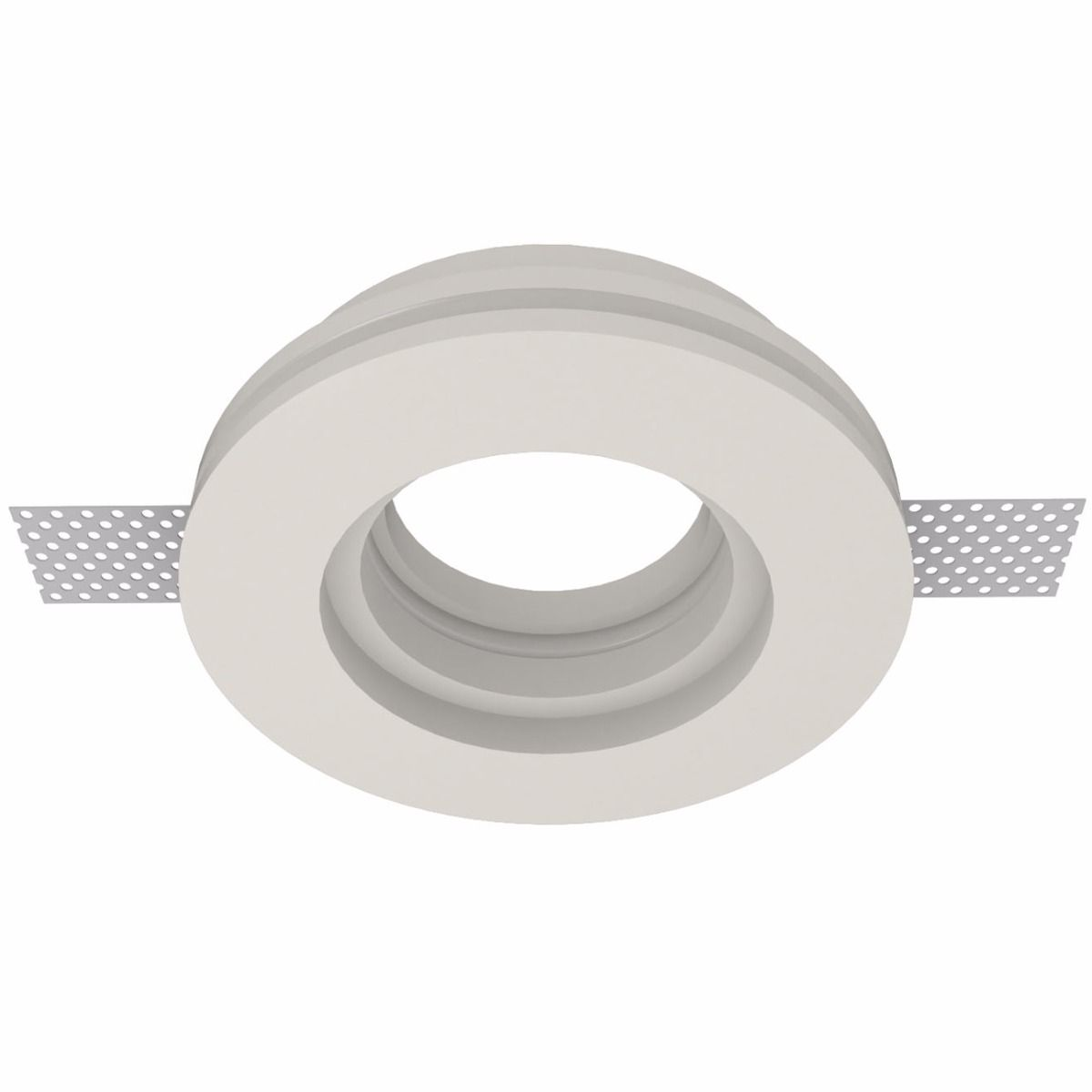 Nama Στρογγυλό Γύψινο Χωνευτό Spot GU10 MR16 IP20