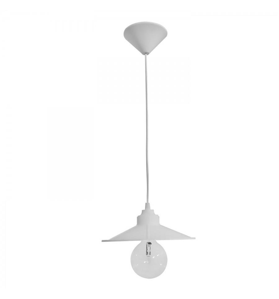 Heronia LED Κρεμαστό Φωτιστικό 25W Μονόφωτο E27 LP-150K-M White