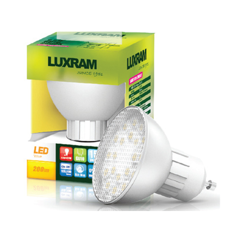 Luxram LED Spot 2.5W GU10 Value